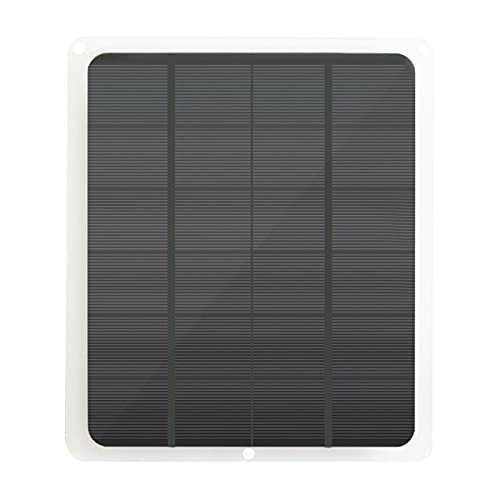 skrskr Panel Solar Mono de 20W para Carga de batería de 12V 12V Cargador y mantenedor de batería Solar a Prueba de Agua Panel Solar Mono de 20 vatios