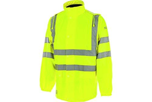 WÜRTH MODYF Warnschutz Regenjacke EN20471 3.2 gelb