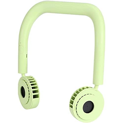 cx-kzw Lüfter, tragbarer Freisprecheinrichtung Hals-Lüfter elektrischer Mini-USB-Ladekühlung-Lüfter (gelb, Pisa-Lehnturm)