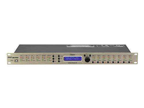 PSSO DXO-48 PRO Digitaler Controller | Digitales Lautsprechermanagementsystem mit Echtzeit-Netzwerksteuerung, 4 Eingänge und 8 Ausgänge