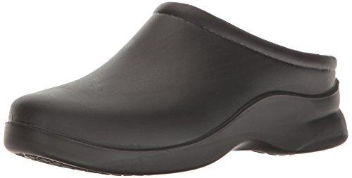 Klogs Footwear Men's Edge Closed Back Chef Clog Black