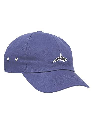 Killer Whale Unisex Cap Gewaschene Baumwolle für Damen und Herren Sport Mütze Golf Baseball (Blauer Jeansstoff)