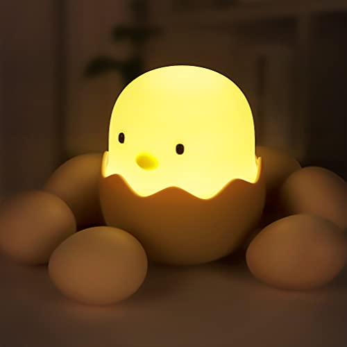 Nachtlicht Kind, LED Nachtlampe Baby Nachtleuchte Touch Lampe Kinderzimmer mit Touch Schalter für Babyzimmer, Schlafzimmer, Wohnräume, Camping, Picknick Warmes weißes licht (Warmes Weiß)