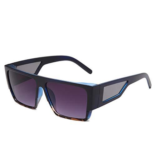 YTYASO Gafas de Sol cuadradas Hombre Mujer FashionDriving Gafas de Sol UV400 Marrón Gafas