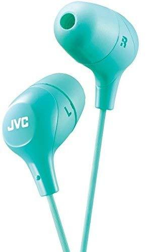 JVC Marshmallow Memory Foam Earbud Green (HAFX38G)