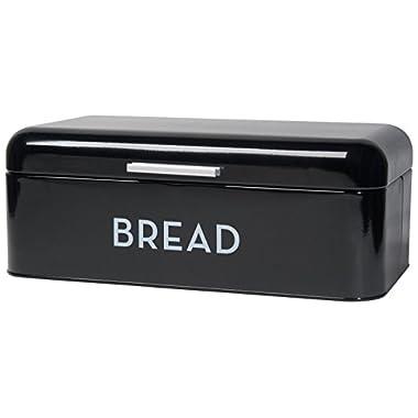 Now Designs Bread Bin, Black
