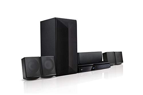 LG LHB625M Heimkino 5.1 Blu-ray-Player Bluetooth DLNA schwarz
