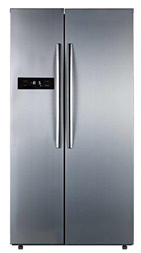 Comfee SBS 527 NFA+ Side-by-Side / A+ / 178,8 cm Höhe / 408 kWh/Jahr / 344 L Kühlteil / 183 L Gefrierteil / Total No Frost