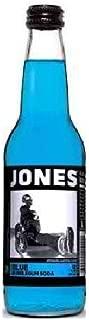 Jones Soda Bubblegum Cane Sugar Soda, Blue by Jones Soda