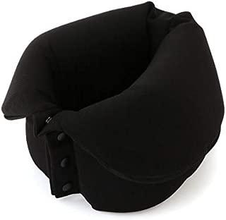 MUJI Roll-Up Neck Pillow Black