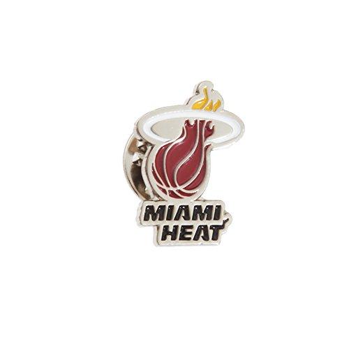 NBA Spilla in Metallo Ufficiale Miami Heat (Taglia unica) (Oro)