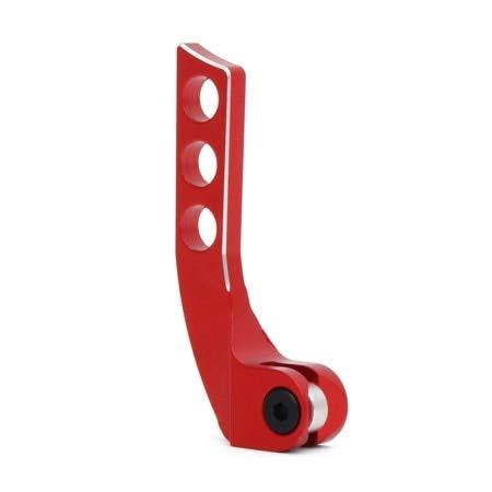 Yoton Accessories Metal Vertical Horizontal 4-Hole Transmitter Neck Strap Balancer Adjuster for Futaba Remote Control - (Color: Red Shape B)