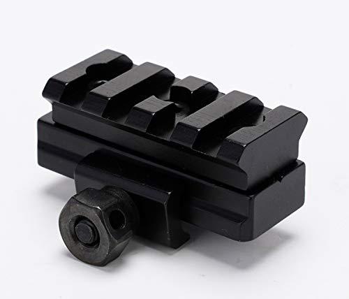 Broptical スコープマウント マウントベース 戦術M14スコープマウントサイト ライフルハンティング用20MMマウント ウィーバーレール サバゲー 水平器付きマウント ver.5050