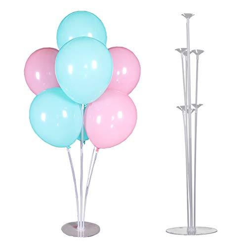 Poseca Ballon Ständer Balloon Stand Kit Luftballons Halter Ballonständer Klarer Party Dekoration Zubehör für Geburtstagsfeier und Hochzeitsdekorationen Eröffnungszeremonie