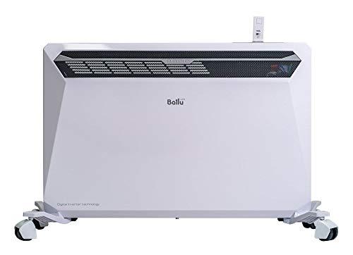 Ballu RA1800 Radiatore con potenza 1800W da 20 a 37 mq in base a isolamento termico, Bianco