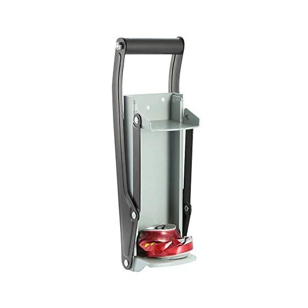 Trituradora de latas de servicio pesado de 16 oz Montado en la pared Dispensador