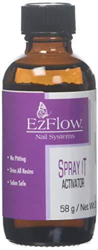 EZ Flow Fiber Glass Spray It Activator False Nails, 2 Fluid Ounce by EzFlow