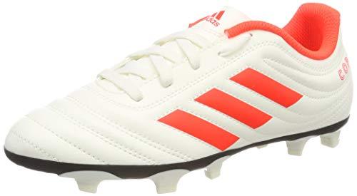 adidas Baby Jungen Copa 19.4 Fg J Fußballschuhe, Weiß Solar Red/Off White, 31 EU