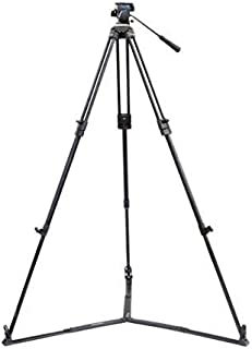 Proaim 100mm Bowl Tripod Stand with Fluid Head (P-BW-100-FLD) & COMPLIMENTARY Spreader for DSLR Video Film Camera | Load C...