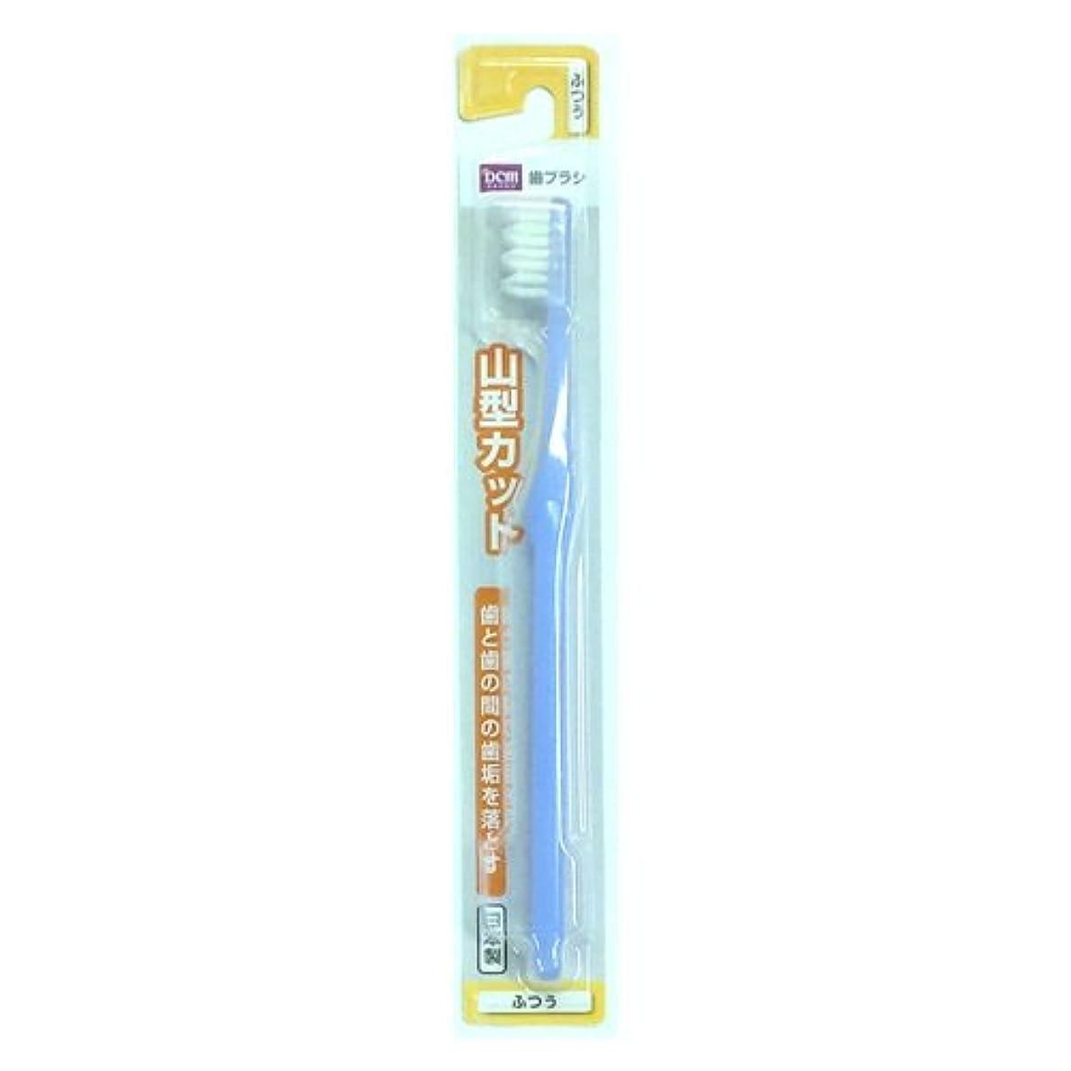 伝統最も遠い処理歯ブラシ 山型カット ふつう