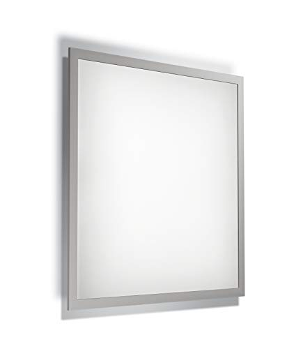 LEDVANCE LED Panel-Leuchte, Leuchte für Innenanwendungen, Aufbauleuchte, Warmweiß, 595,0 mm x 595,0 mm x 46,6 mm, PLANON Plus