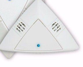 Cooper Controls Greengate Novitas, Inc. Automatische Lichtsteuerung Kleinflächen-Decken-Set Mikroset Ultraschallsensor Modell #01-160 Kleiner Flächen-Einweg-Raumsensor