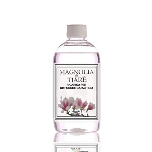 Ricarica Diffusore di profumo per lampada profumata catalitica, 500ml Magnolia e Tiarè