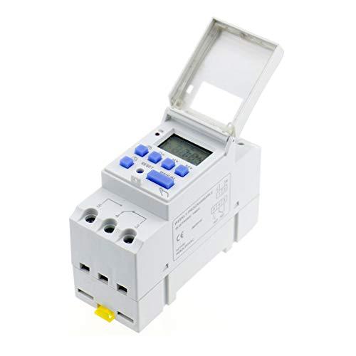 Idyandyan Multifunción 220V Progrmable Temporizador Interruptor de Tiempo del Interruptor de Temporizador de Ahorro de energía del Controlador de Temporizador Inteligente