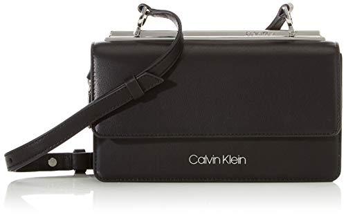 Calvin Klein Advanced Ew Crossbody - Borse a tracolla Donna, Nero (Black), 1x1x1 cm (W x H L)