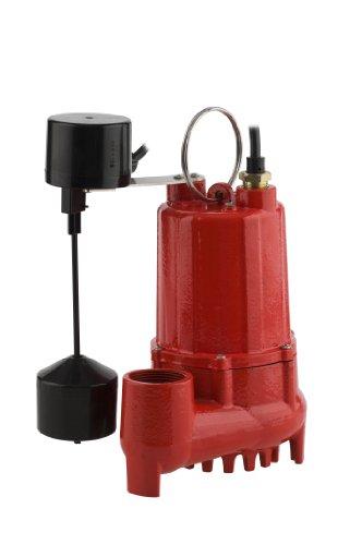 Red Lion RL-SC50V Accessories 1/2 HP, 4300 GPH Sump Pump - Cast Iron w/Vertical Switch