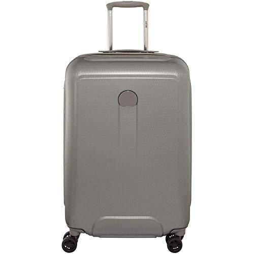 【3年保証付】Delsey デルセー スーツケース 機内持ち込み 中型 大型 三サイズ HELIUM AIR 2 ハードスーツケース キャリーバッグ キャリーケース TSAロック搭載 旅行用品 (70L, Grey) [並行輸入品]