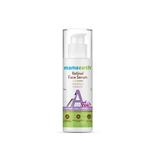 Mamaearth Retinol Face Serum with Retinol & Bakuchi for Fine Lines & Wrinkles – 30 g