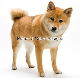1/4 Sheet ~ Shiba Inu Dog Breed ~ Edible Cake/Cupcake Topper - D4968