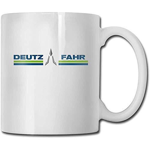 Tassen Deutz-fahr Handmade Design Mode Kaffeetasse Tee Cup Geschenk für Fans Ehemann Frau Freundin Weiß
