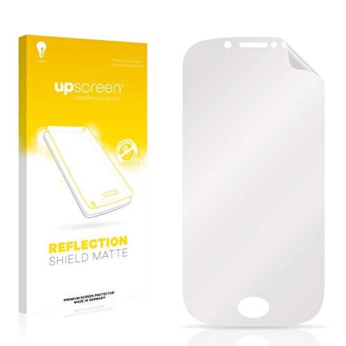 upscreen Entspiegelungs-Schutzfolie kompatibel mit Wiko Sublim – Anti-Reflex Bildschirmschutz-Folie Matt