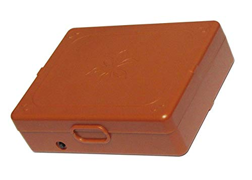 Timer Lock Box for Cigarette, Quit Smoking aid,Control of Smoking aid, Include 12.6V DC Charger as Accessory (Brown)