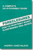 Foreclosures: How to profitably invest in distressed real estate 0809256959 Book Cover