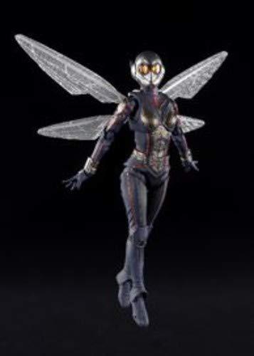Bandai Tamashii Nations 63088 S.H.Figuarts Ant-Man - Figura de acción de Avispa y tamashii, Multicolor