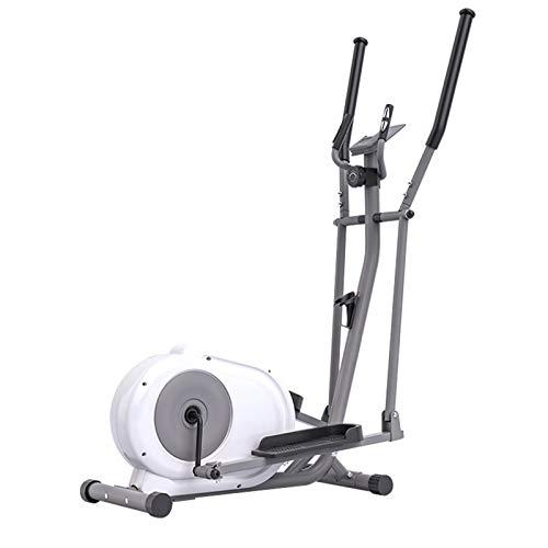 AORISSE Crosstrainer Elliptische Maschine, Faltbare Fitness-Cross-Trainer-Ellipsentrainer mit Magnetsteuerung, Ultra-leises Indoor-Space-Walker-Sport-Fitnessgerät,Foldable