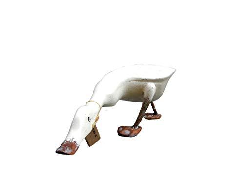 Landhausdeko, Landhausdekor, Holz, Modell Bretagne, 38 cm, Elfenbeinfarben