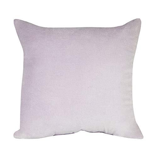 Cozy Bed Velvet Plush Cotton Throw Pillow, Lavender