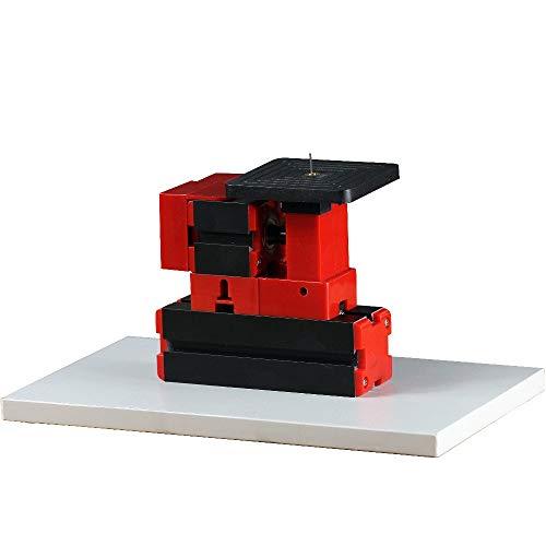 W-SHTAO L-WSWS Mini básica Jagsaw multifunción DIY Mini Torno 24W 20.000 RPM Mesa de Trabajo 90mmx90mm Estándar niños Educación Aprobado por la CE Accesorios de Torno