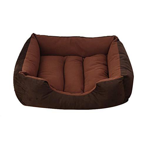 JIAMING Cama del Animal doméstico, Nido cómodo for los Animales domésticos Manta Corta for la Protección de Pelusa contra el frío, a Prueba de Humedad 4 tamaños (C (Color : E, Size : Xlarge)