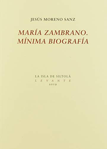 María Zambrano, mínima Biografía: 37 (Levante)
