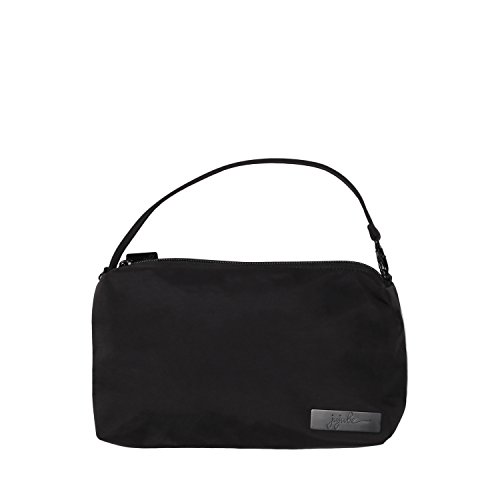 JuJuBe Be Quick Baby Wipe Carrying Case/Detachable Wristlet, Onyx Collection - Black Out