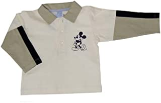 Disney 70760–Mickey Mouse Polo, Couleur: ecru