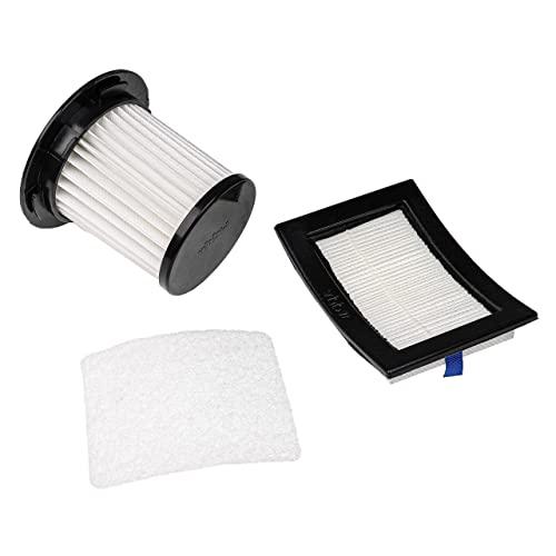 vhbw Set filtros hepa para aspiradoras Dirt Devil Centrino X3.1, M2012, M2012-3, M2012-4, M2725, M2725-0, M2725-1, M2725-2, M2725-3