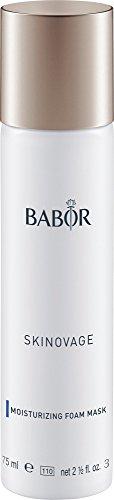 BABOR SKINOVAGE Moisturizing Foam Mask, Schaummaske für trockene Haut, feuchtigkeitsspendend, mit Mandelöl, intensive Pflege, 75ml