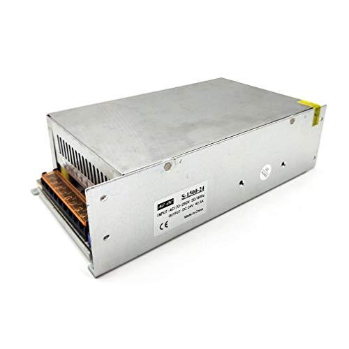 YLWL 1500W einstellbare Gleichstromversorgung Schaltnetzteil Transformador Kommunikation Motor Netzteil Wechselstrom zu Gleichstrom (Silber 24V)