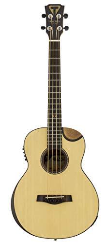 Traveler Guitar Redlands Concert 4 String Acoustic-Electric Bass Guitar, Right, Spruce (RCB SE)